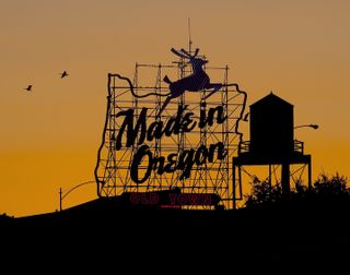 Made in Oregon Sunset