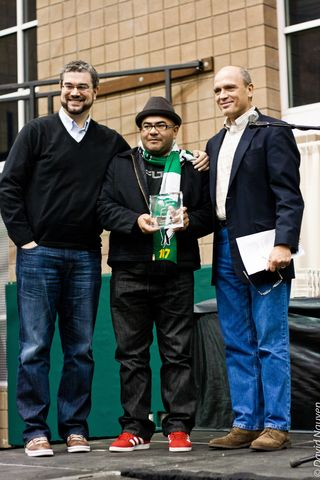 Timbers Spirit of Portland award